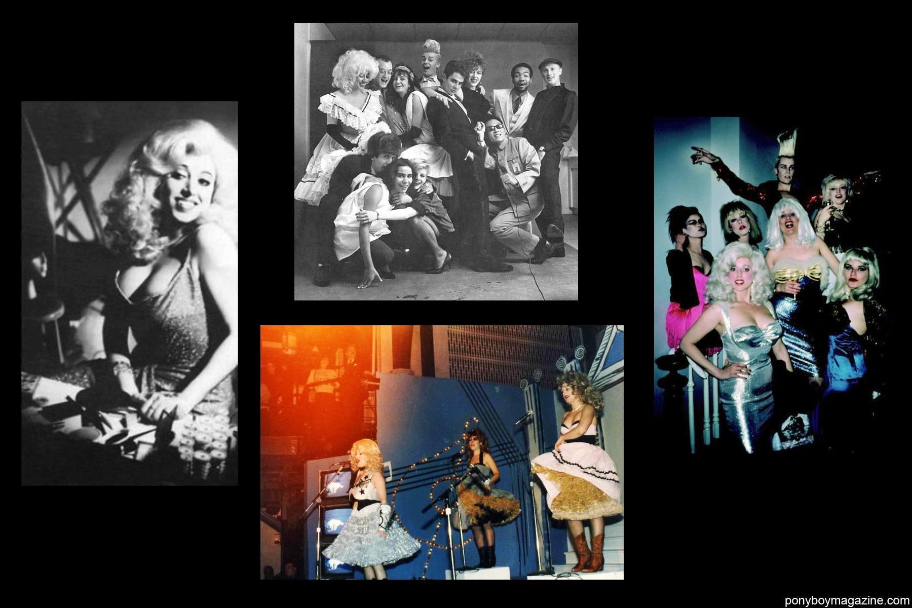 Photos of legendary performers Katy K and John Sex for Ponyboy Magazine.
