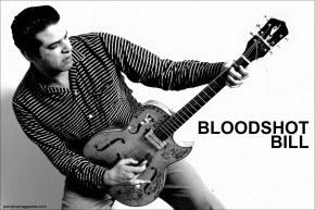 Rockabilly star Bloodshot Bill, photographed by Alexander Thompson for Ponyboy Magazine in New York City.