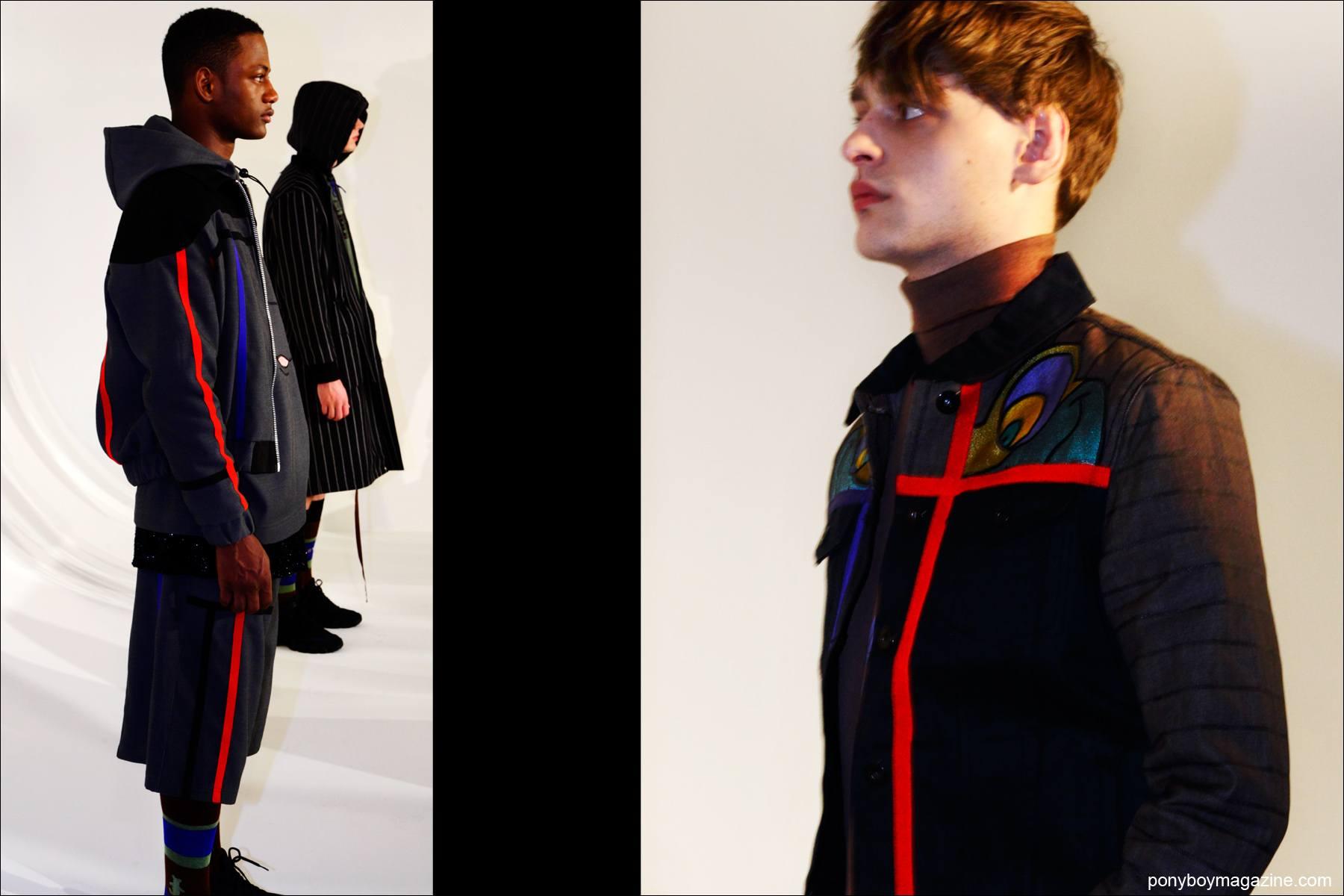 UK designer Bobby Abley F/W15 presentation at Milk Studios in New York. Photos for Ponyboy magazine by Alexander Thompson.