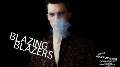 BLAZING <br />BLAZERS