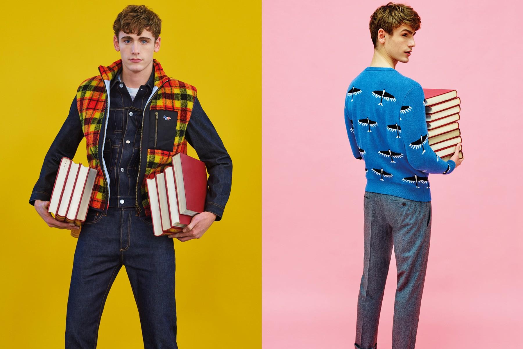 The latest Maison Kitsuné menswear lookbook, for F/W16. Photographed by Pierpaolo Ferrari. Pony boy magazine NY.