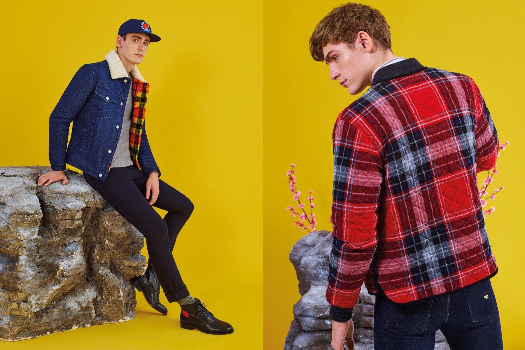 The latest Maison Kitsuné menswear lookbook, for Fall/Winter 2016. Photographed by Pierpaolo Ferrari. Pony boy magazine NY.