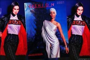 Fashion: 2001 by Lucille Khornak. Ponyboy magazine.