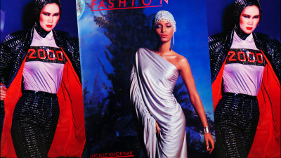 FASHION 2001<br />LUCILLE KHORNAK
