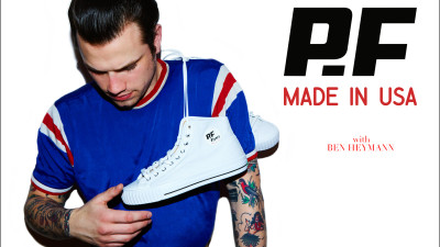 PF FLYERS <br />MADE IN USA