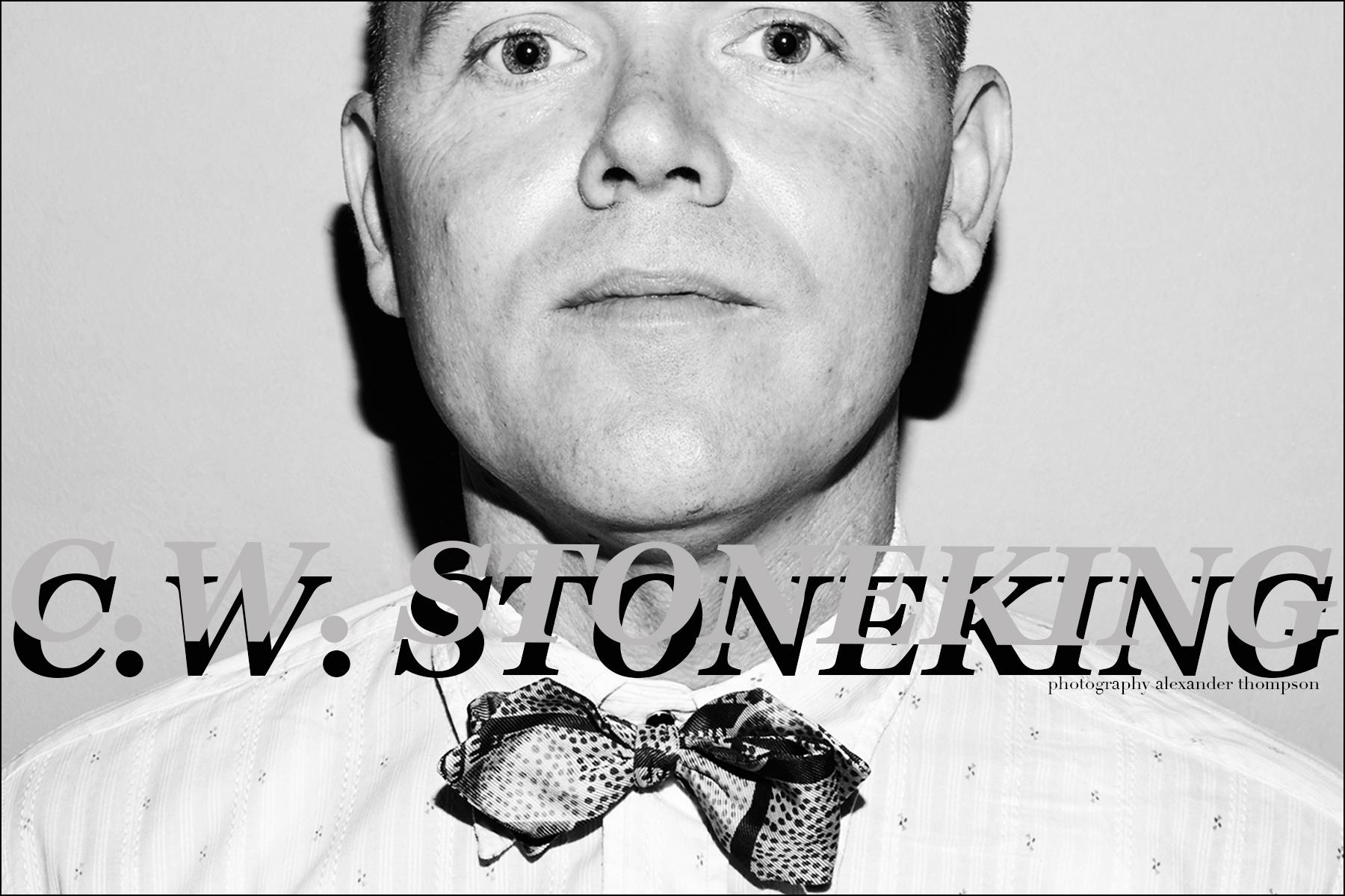 C.W. Stoneking photographed for Ponyboy magazine by Alexander Thompson.