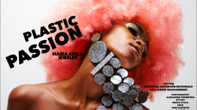 PLASTIC PASSION<br />MARIA AYALA JEWELRY