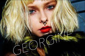 Georgine S/S17. Ponyboy magazine. Photography by Alexander Thompson.