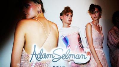 ADAM SELMAN<br />S/S 2017