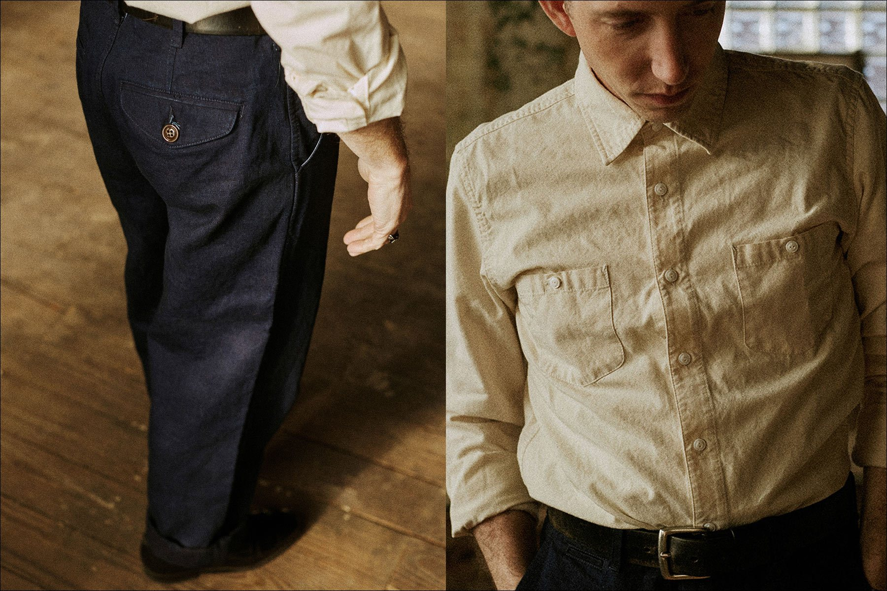 Pokey LaFarge by Noah Sahady for his clothing collaboration with Knickerbocker Mfg. Co. Ponyboy magazine NY.
