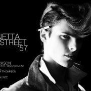 "Male model Casey Jackson stars in Ponyboy magazine menswear editorial ""MInetta Street '57"". Photography by Alexander Thompson, with menswear grooming by Walton Nunez."