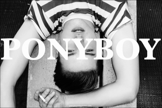 Ponyboy Magazine is a Vintage Inspired Online Fashion Magazine founded by editorial photographer Alexander Thompson, featuring men's and women's editorials, people, places, culture, style, music and photography.