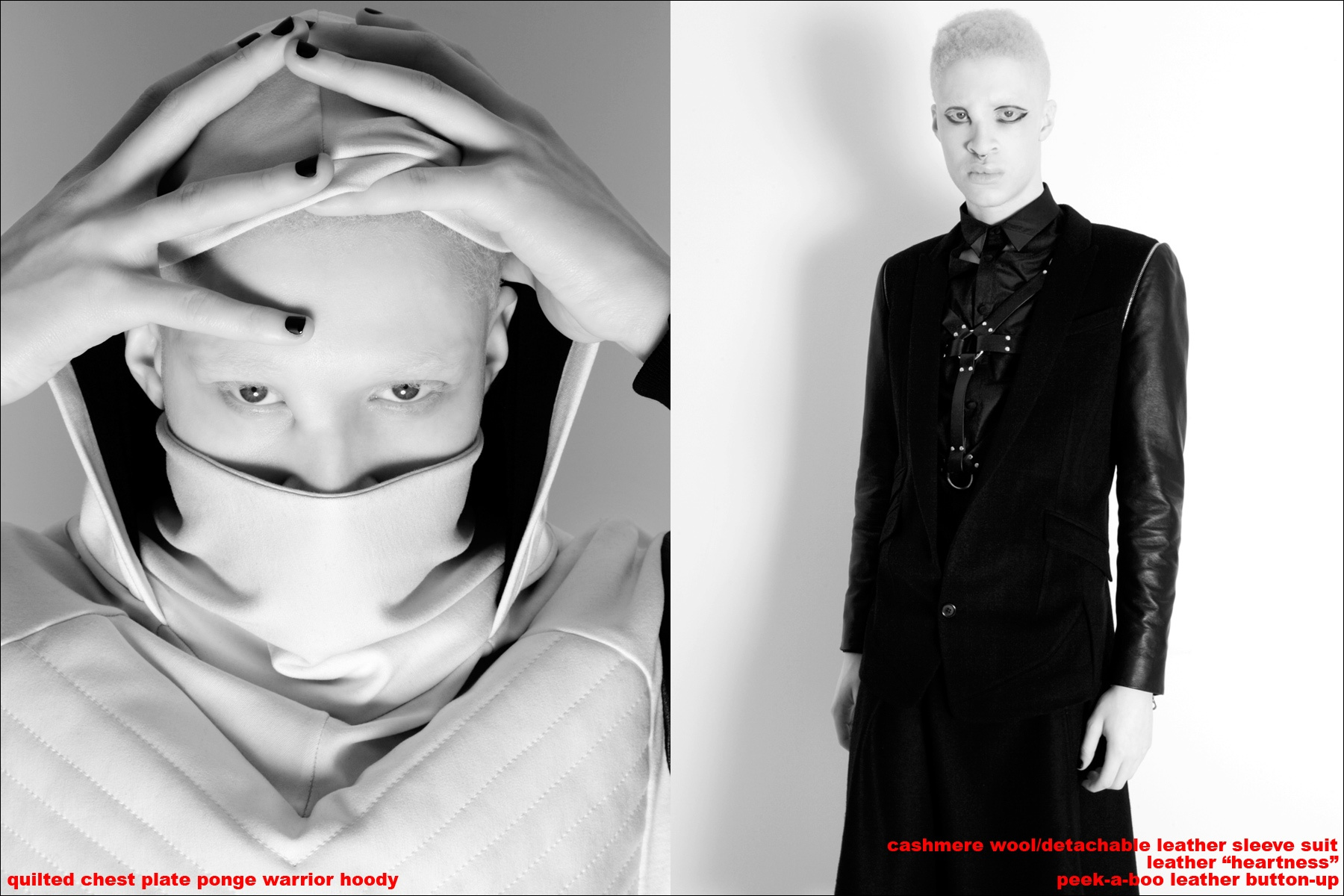 Shaun Ross modeling for Ponyboy Magazine, wearing Ashton Michael AW 2013 clothing. Photographed by Alexander Thompson.