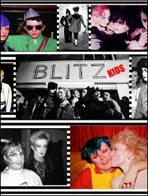 Images from the past of the world famous Blitz Kid movement in early 1980's London at the famed Blitz Club.