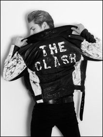 "Model Clancy Sigalet in mens' editorial ""CLASHED"" for Ponyboy Magazine, photographed by Alexander Thompson."