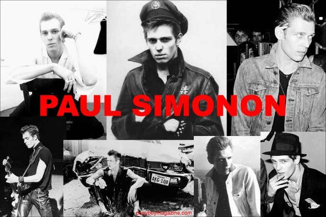 British men's style icon Paul Simonon, photo collage for Ponyboy Magazine.