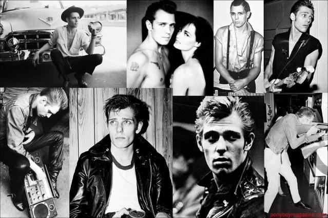 Style Icon Paul Simonon from The Clash, photo collage for Ponyboy Magazine.