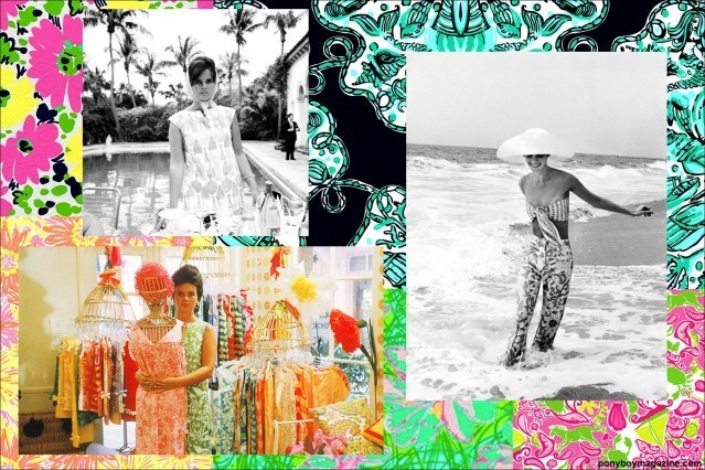 Lovely vintage Lilly Pulitzer clothing for Ponyboy Magazine.