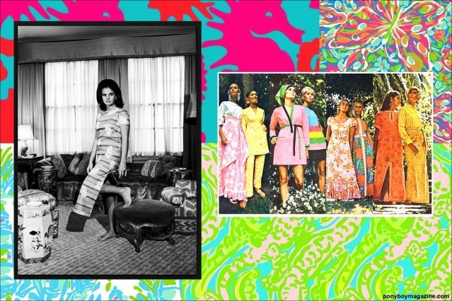 Beautiful Lilly Pulitzer creations for Ponyboy Magazine.