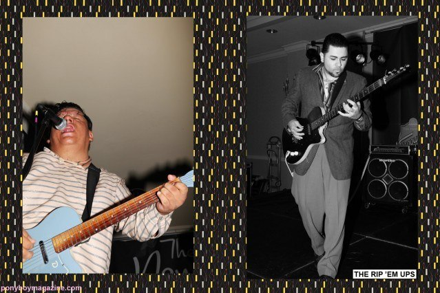 Rockabilly band The Rip 'Em Ups, photographed by Alexander Thompson for Ponyboy Magazine at the New England Shake-up.