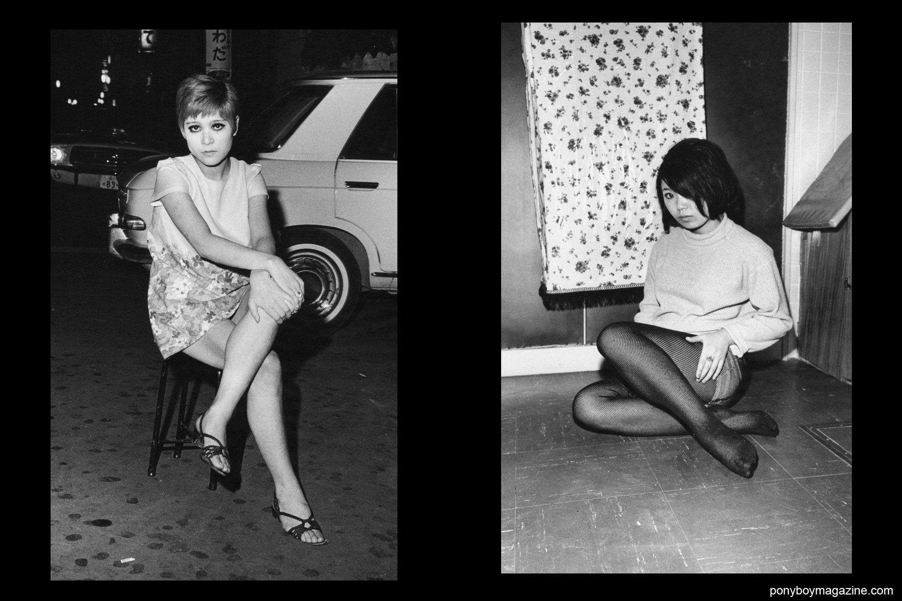 Japanese hookers in 1960's Tokyo photographed by Watanabe Katsumi.