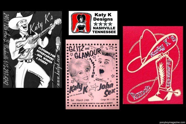 Vintage NYC flyers from the personal collection of Katy K for Ponyboy Magazine.