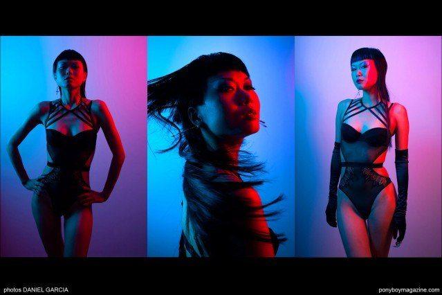Photos of model Shien Lee by director Daniel Garcia, Ponyboy Magazine.