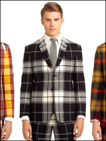 Thom Browne for Black Fleece AW2014, Men's fashion Ponyboy Magazine New York City.