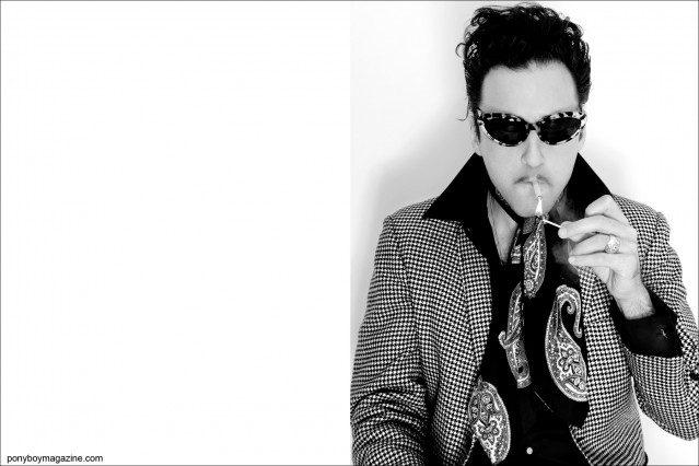 For Ponyboy Magazine, Superstar DJ Jonathan Toubin photographed in New York City by Alexander Thompson.