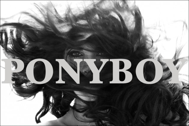 Ponyboy Magazine Hair Storm Cover photographed by Alexander Thompson.