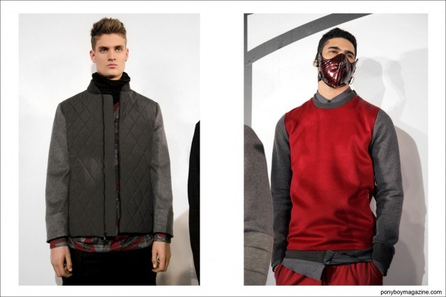 Presentation for Rochambeau A/W 2014, photographed in New York City at Milk Studios by Alexander Thompson.