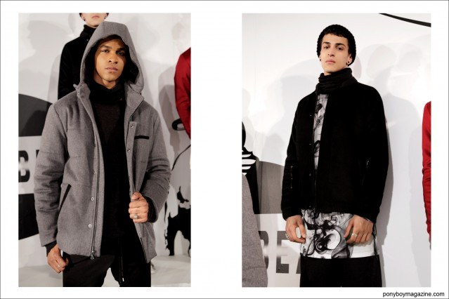 Rochambeau models photographed at the New York City presentation at Milk Studios, A/W 2014. Photographed for Ponyboy Magazine by Alexander Thompson.