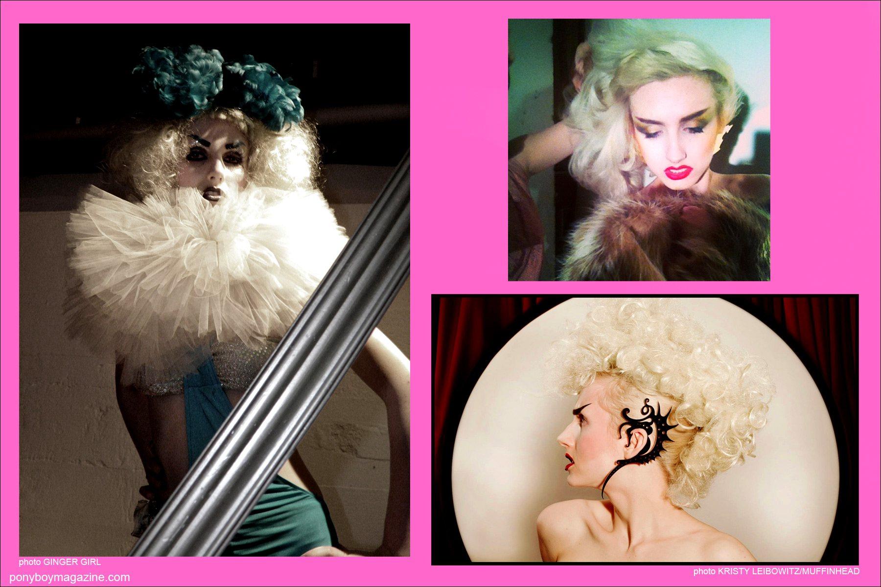 Various photos of New York City model Stella Rose Saint Clair for Ponyboy Magazine.