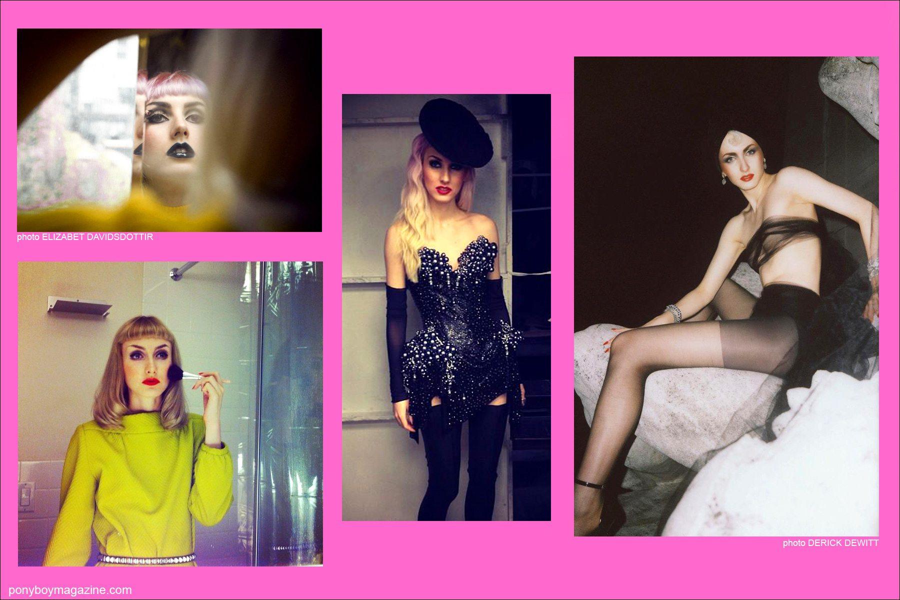 The beautiful New York City model Stella Rose Saint Clair for Ponyboy Magazine.