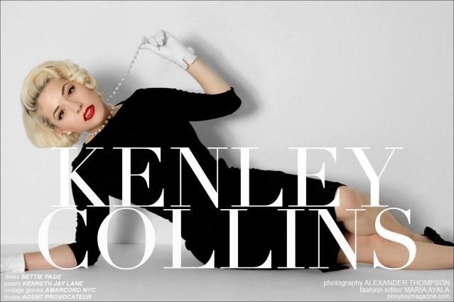 New York designer Kenley Collins photographed by Alexander Thompson for Ponyboy Magazine.