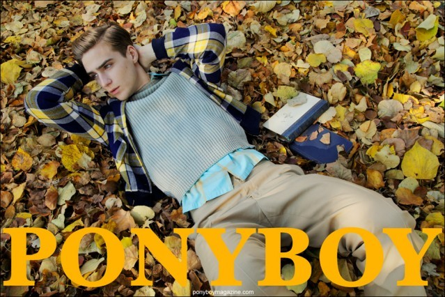 "Samuel Roberts Cover, ""The Ivy League"" photographed by Alexander Thompson for Ponyboy Magazine."