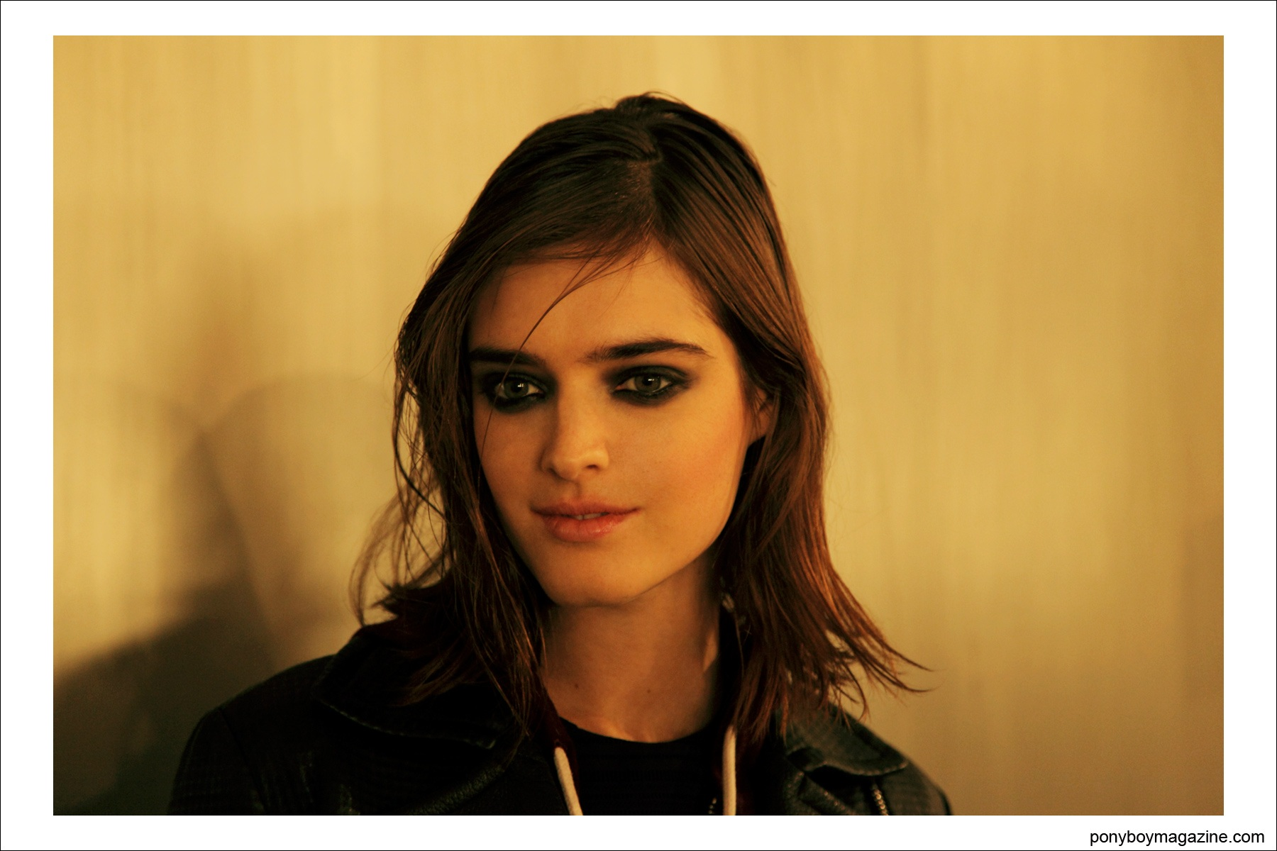 Backstage at Sophie Theallet, photographed by Alexander Thompson for Ponyboy Magazine.