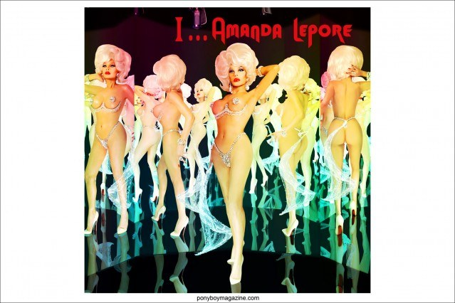 "Artwork for ""I...Amanda Lepore"" by New York City artist Scott Ewalt. Ponyboy Magazine."