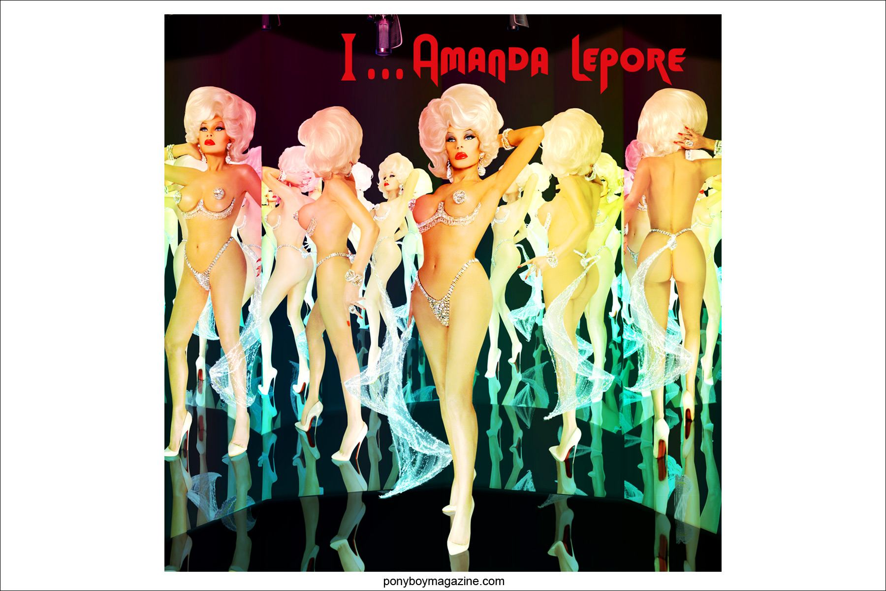 The amazing Amanda Lepore