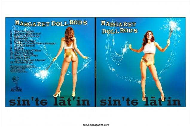 Artwork of Margaret Doll Rod by Scott Ewalt. Ponyboy Magazine.