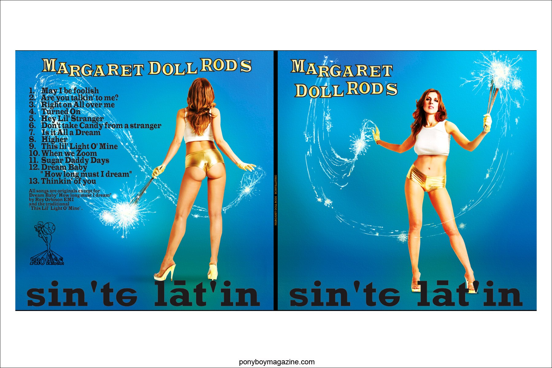 Margaret Doll Rod cover art by digital artist Scott Ewalt, Ponyboy Magazine.