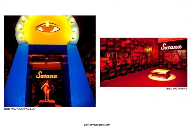 "Photos of Scott Ewalt exhibit ""Back in the Night"" by Mauricio Padilla and Mr. Means. Ponyboy Magazine."