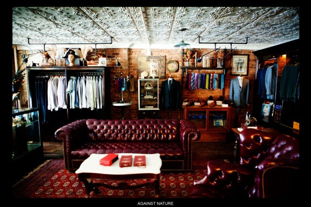 Interior shot of Against Nature Atelier in New York City, Ponyboy Magazine.