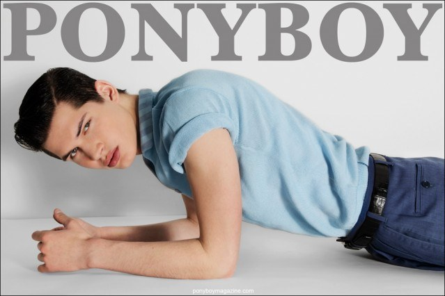 Ponyboy Cover, Ben Stift photographed by Alexander Thompson.