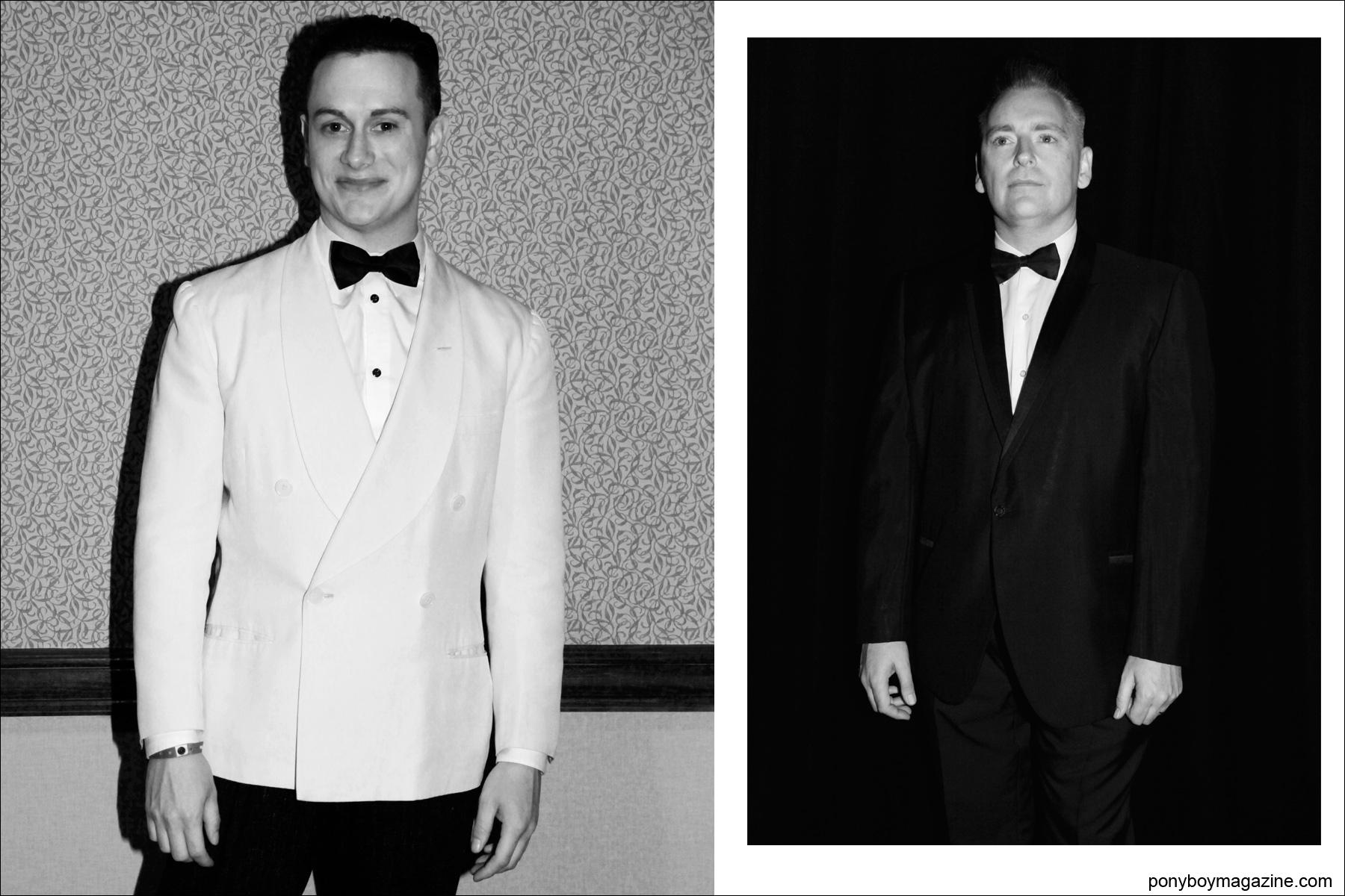 Men's vintage tuxedos photographed at Viva Las Vegas rockabilly weekender by Alexander Thompson for Ponyboy Magazine.