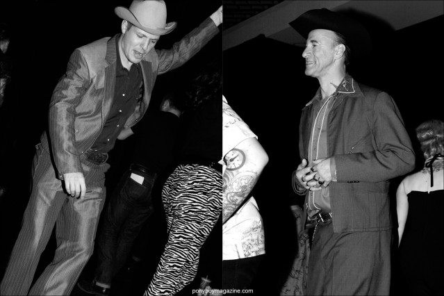 Men's vintage 1950's western wear, photographed at Tom Ingram's Viva Las Vegas rockabilly weekender by Alexander Thompson for Ponyboy Magazine.