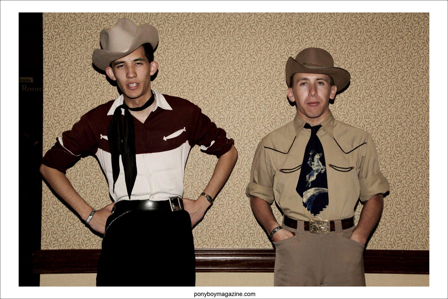 Viva Las Vegas western style gabardines, photographed by Alexander Thompson for Ponyboy Magazine.