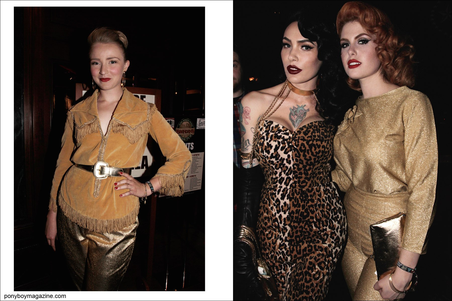 Rockabilly ladies photographed at Viva Las Vegas 17 for Ponyboy Magazine by Alexander Thompson.