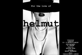 """For the love of Helmut"", a women's editorial photographed by UK based photographer JC Verona for Ponyboy Magazine."