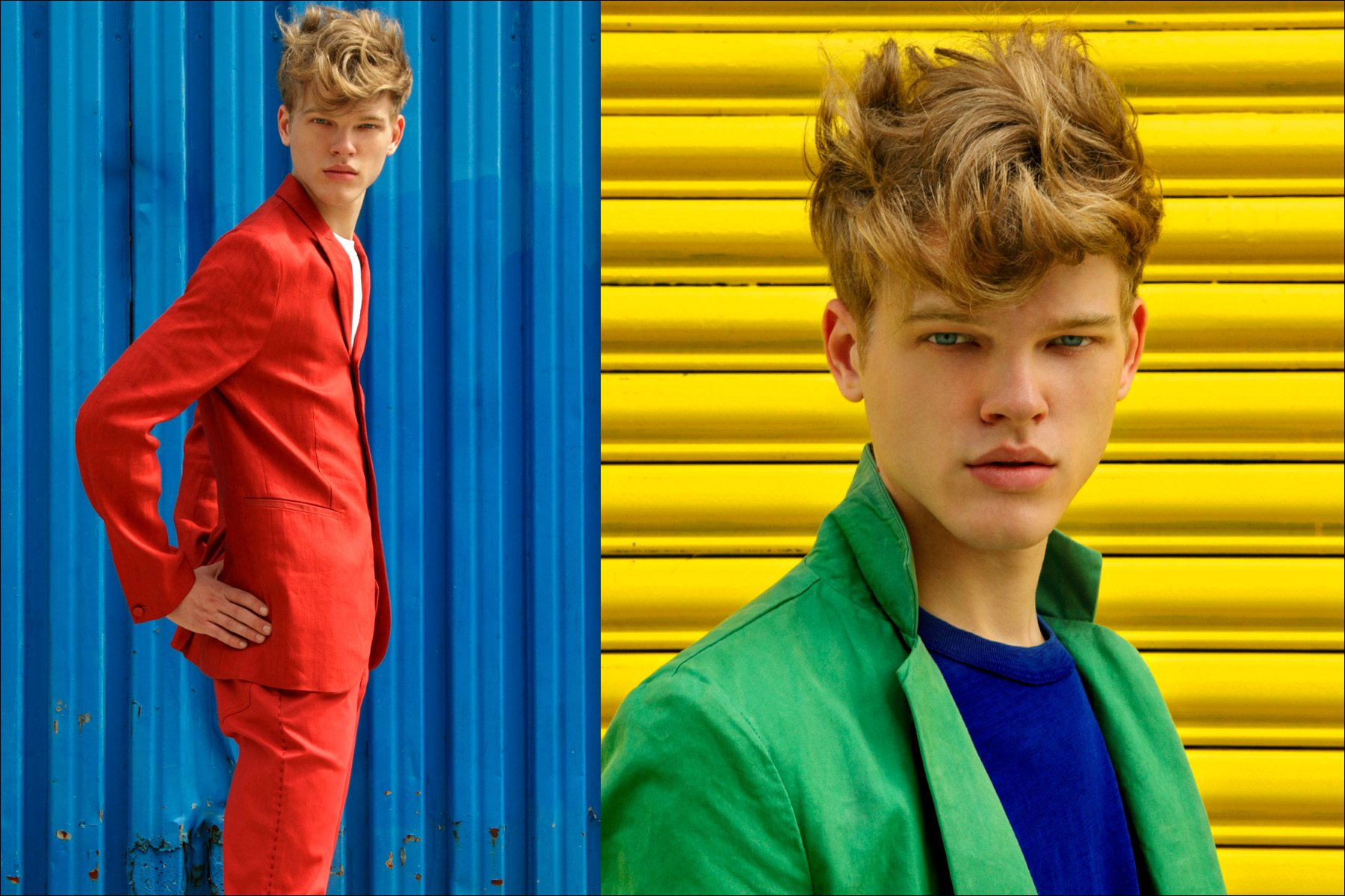 Ponyboy Magazine men's editorial